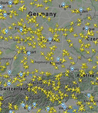 Flugverkehr