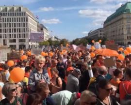 Impfen muss freiwillig bleiben – Demo