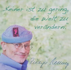 Rüdiger Nehberg: Motto