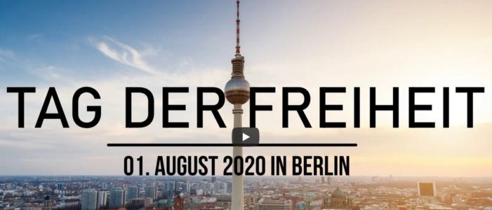 Tag der Freiheit – Demo in Berlin