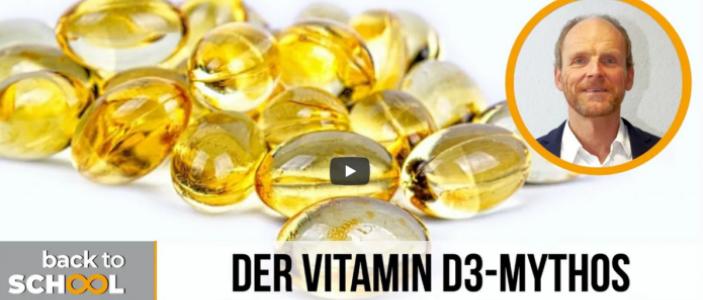 Vitamin D3-Mythos entlarvt